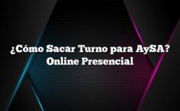¿Cómo Sacar Turno para AySA? Online Presencial