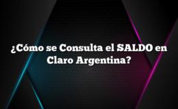 ¿Cómo se Consulta el SALDO en Claro Argentina?