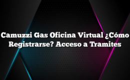 Camuzzi Gas Oficina Virtual ¿Cómo Registrarse? Acceso a Tramites