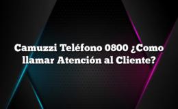 Camuzzi Teléfono 0800 ¿Como llamar Atención al Cliente?