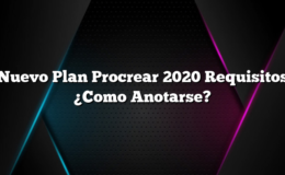 Nuevo Plan Procrear 2020 Requisitos ¿Como Anotarse?