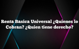 Renta Basica Universal ¿Quienes lo Cobran? ¿Quien tiene derecho?